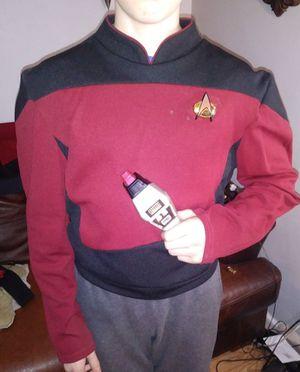 Ruby's original screen accurate Star Trek TNG uniform shirt for Sale in Philadelphia, PA
