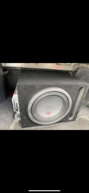 1500 Watt Hifonics Amp + Alpine Subwoofer for Sale in Torrance, CA
