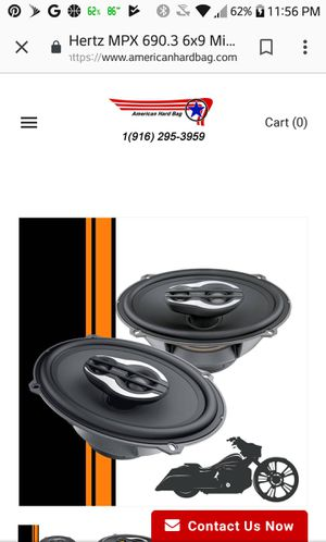 Hertz 6x9s mille pro series for Sale in University Heights, OH