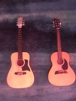 2 acoustic guitars $50 each for Sale in Sterling, VA