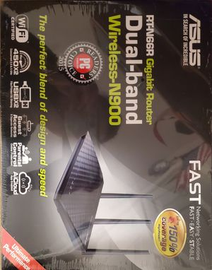 Asus RT-N66R Gigabit Router Dual-band Wireless-N900 for Sale in Houston, TX