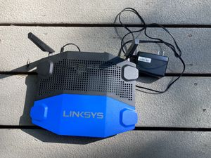 Linksys WRT1900ACS WiFi router mu-mimo gigabit for Sale in Tigard, OR