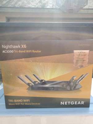 Nighthawk X6 Wifi Router for Sale in Fresno, CA