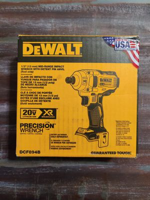 """DCF894 DeWalt 1/2"""" Impact Wrench XR for Sale in McGaheysville, VA"""