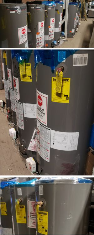 Rheem water heater 50 gallons energy saver promo price includes installation for Sale in Artesia, CA