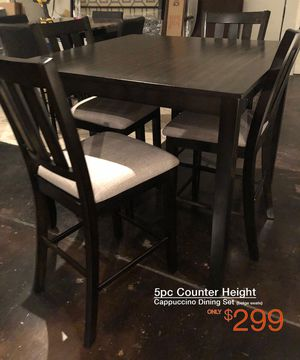 Brand new tables with chairs and free delivery for Sale in Mesquite, TX