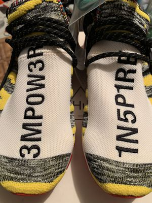 ba31bf5e8 Nmd human race empower black yellow size 9.5 for Sale in Bronx