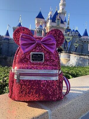 Imagination pink loungefly mini backpack