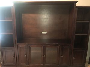 Pier1 Bookcases/TV Entertainment Center for Sale in Arlington, VA