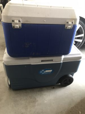 Free coolers for Sale in Riverside, CA