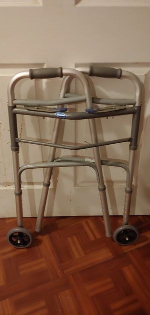 Invacare 2 Button Folding Walker for Sale in Silver Spring, MD