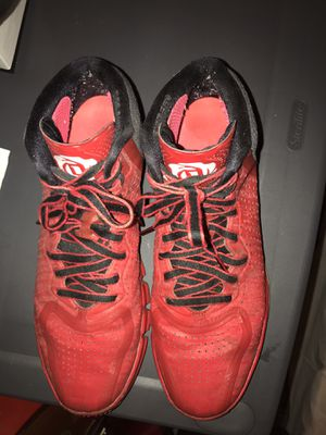 Adidas Derrick Rose 4s Red/Black Mens Basketball Shoes for Sale in Chicago, IL