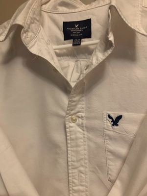 2 Large Dress Shirts - 1 American eagle 1unamed for Sale in Pflugerville, TX
