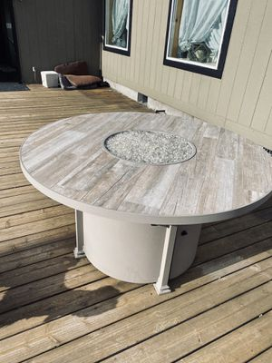 Custom Fire pit dining table for Sale in CRKD RVR RNCH, OR