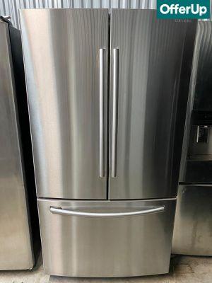 French Door 3-Door Samsung Refrigerator Fridge 36in Wide #1264 for Sale in Orlando, FL