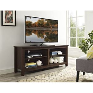 """Wood TV Media Storage Stand for TV's up to 60"""", NEW AND ASSEMBLED! WE CAN DELIVER! for Sale in Rochester, NY"""