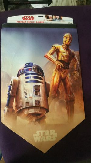 R2D2, C3PO Yoda Banners and Praetorian Guard for Sale in Columbus, OH