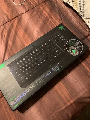 Razer Blackwidow Tournament edition Keyboard for Sale in Phoenix, AZ