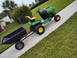 John Deere tractor and trailer OBO for Sale in Land O Lakes, FL