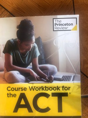 ACT workbook for Sale in San Pablo, CA