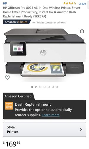 HP printer- OfficeJet Pro 8025 for Sale in Chicago, IL
