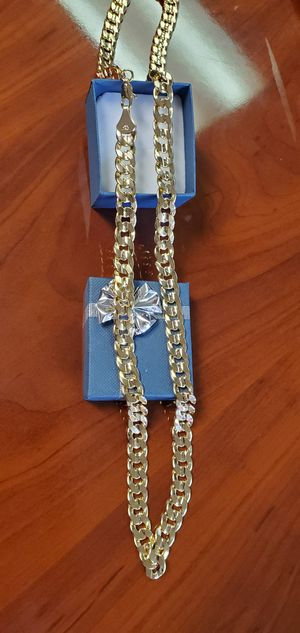 14K Gold Plated, 30 inch Chain Necklace, 9mm thick for Sale in Portland, OR