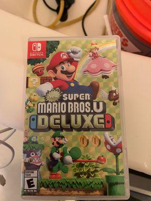 Super Mario Bros U Deluxe (BrandNew) Nintendo Switch for Sale in Los Angeles, CA