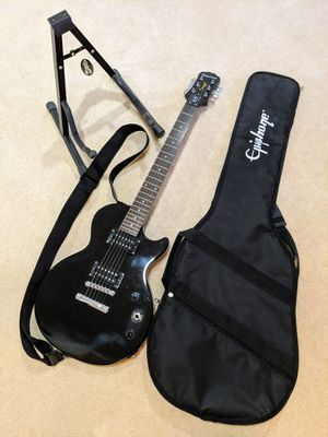 Epiphone Les Paul Special II Electric Guitar with Strap, Bag, and Stand for Sale in Vienna, VA