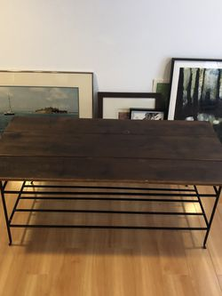 Wood And Metal Coffee Table for Sale in Saint Charles,  MO