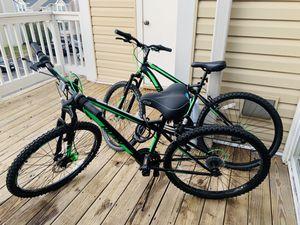 Huffy 26in Steel Frame Green Cycling Ride Nighthawk Men's Bicycle Mountain Bike for Sale in Arlington, VA
