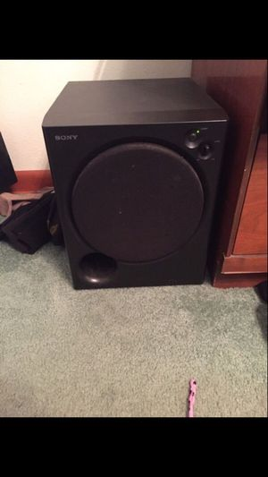 Sony powered subwoofer for Sale in Affton, MO
