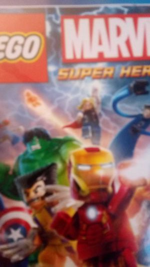 PS4 Lego marvel super heros 15$ I'll take 10$ for Sale in Perris, CA