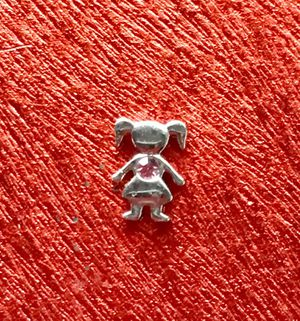 Origami Owl Birthstone Charm - Girl - June - Retired for Sale in Downey, CA