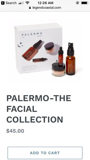 New Palermo Body Facial Collection for Sale in Tolleson, AZ