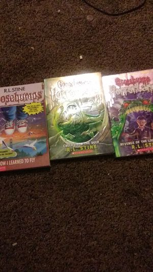 R.L.Stine goosebumps books for Sale in Middletown, CT