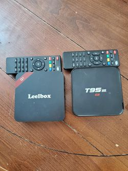 2 android boxes obo for Sale in Sugar Land,  TX