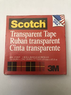 Scotch Transparent Tape for Sale in Rockville, MD