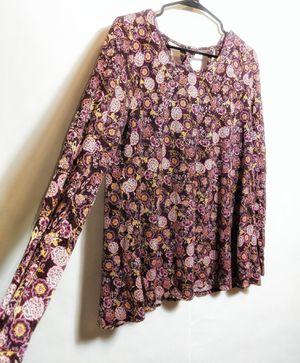 Rue 21 Floral Long Sleeve for Sale in Walla Walla, WA