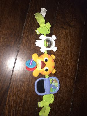 Car seat line toy and car seat pads for straps for Sale in Pasadena, TX