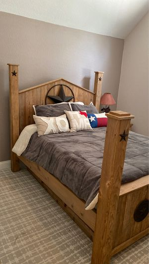 Rustic Bedroom Set (Texas) for Sale in Houston, TX