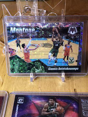 Giannas Antetokounmpo lot sports cards basketball cards baseball cards football cards for Sale in Lynnwood, WA