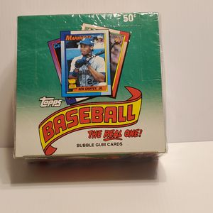 1990 Topps Baseball Cards 1990 Bubble Gum New sealed. for Sale in San Jose, CA