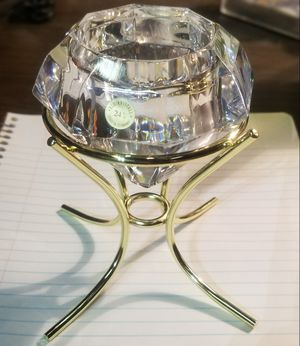"""DIAMOND"" LEAD CRYSTAL SOLITAIRE VOTIVE HOLDER *NEW for Sale in Phoenix, AZ"