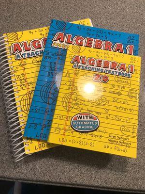 Teaching Textbooks Curriculum (Algebra 1) for Sale in Franklin, TN