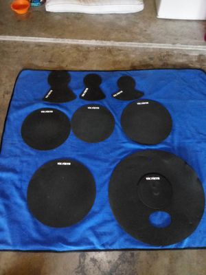 Vic Firth Drum Mute Prepack - 8-pc for Sale in Fort Worth, TX