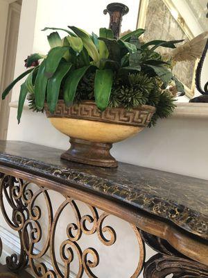 Versace Inspired flower Vase for Sale in Los Angeles, CA