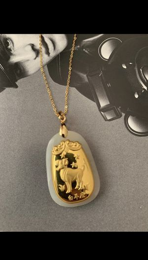 24K gold necklace - Aries for Sale in Beverly Hills, CA