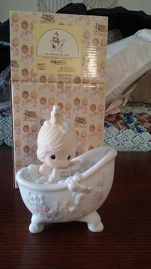 Precious Moments bath figurine for Sale in Verona, NY