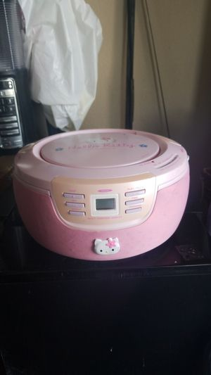 Hello Kitty CD player and radio new for Sale in Hesperia, CA