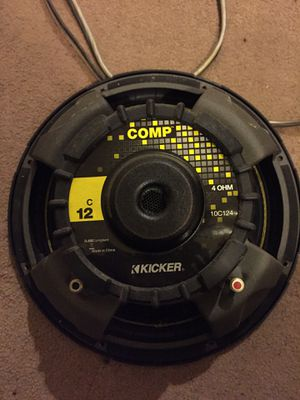 Kicker 12 subwoofer for Sale in Springfield, VA